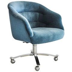 Blue Ward Bennet Chair