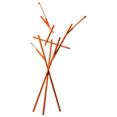 Foscarini Tuareg LED Floor Lamp in Orange by Ferruccio Laviani