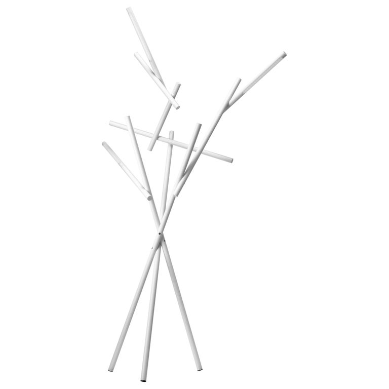 Foscarini Tuareg LED Floor Lamp in White by Ferruccio Laviani For Sale