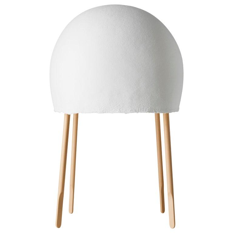 Foscarini Kurage Table Lamp in White by Nendo and Luca Nichetto For Sale