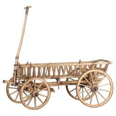 Farmer Cart, Switzerland, circa 1800