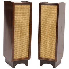 Pair of Midcentury Model LS35 Loudspeakers by Celestion for His Masters Voice