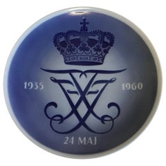 Royal Copenhagen Commemorative Plate from 1960 RC-CM308