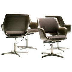Metal Büro- und Schreibtischstühle