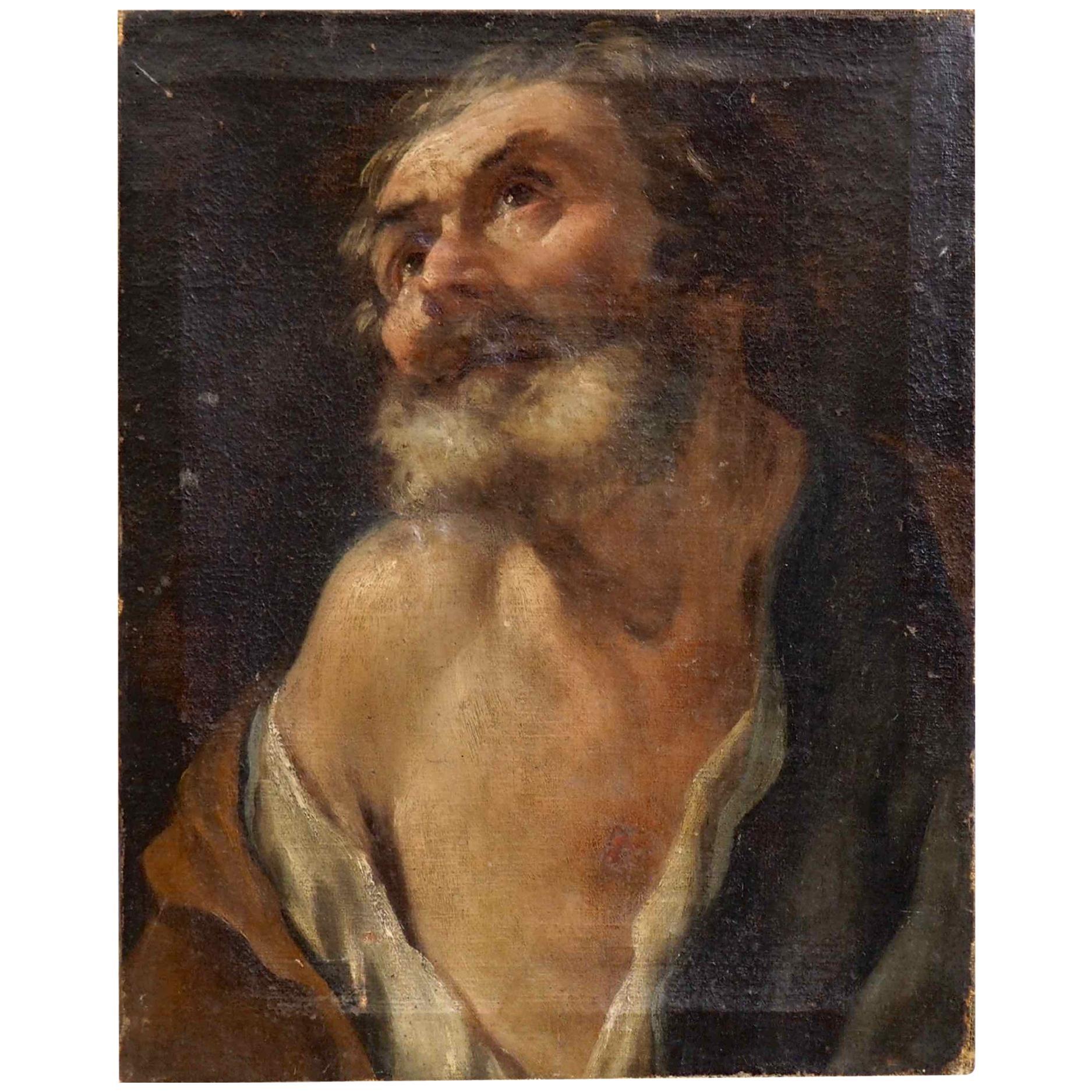 Italian Old Master Painting, 17th Century, Oil on Canvas