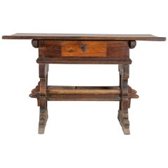 Engadinese Table, Engadine, circa 1600