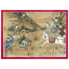 Beautiful Chinese Painting, 18th Century