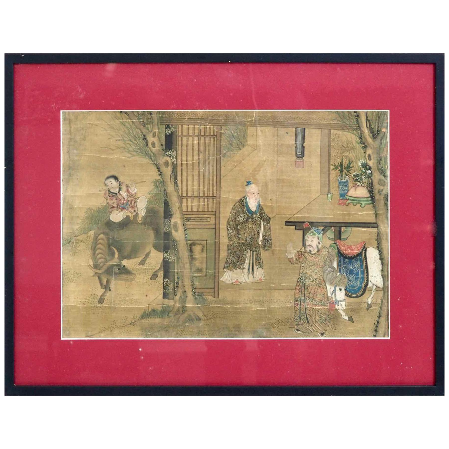 Charming Chinese Painting, 18th Century