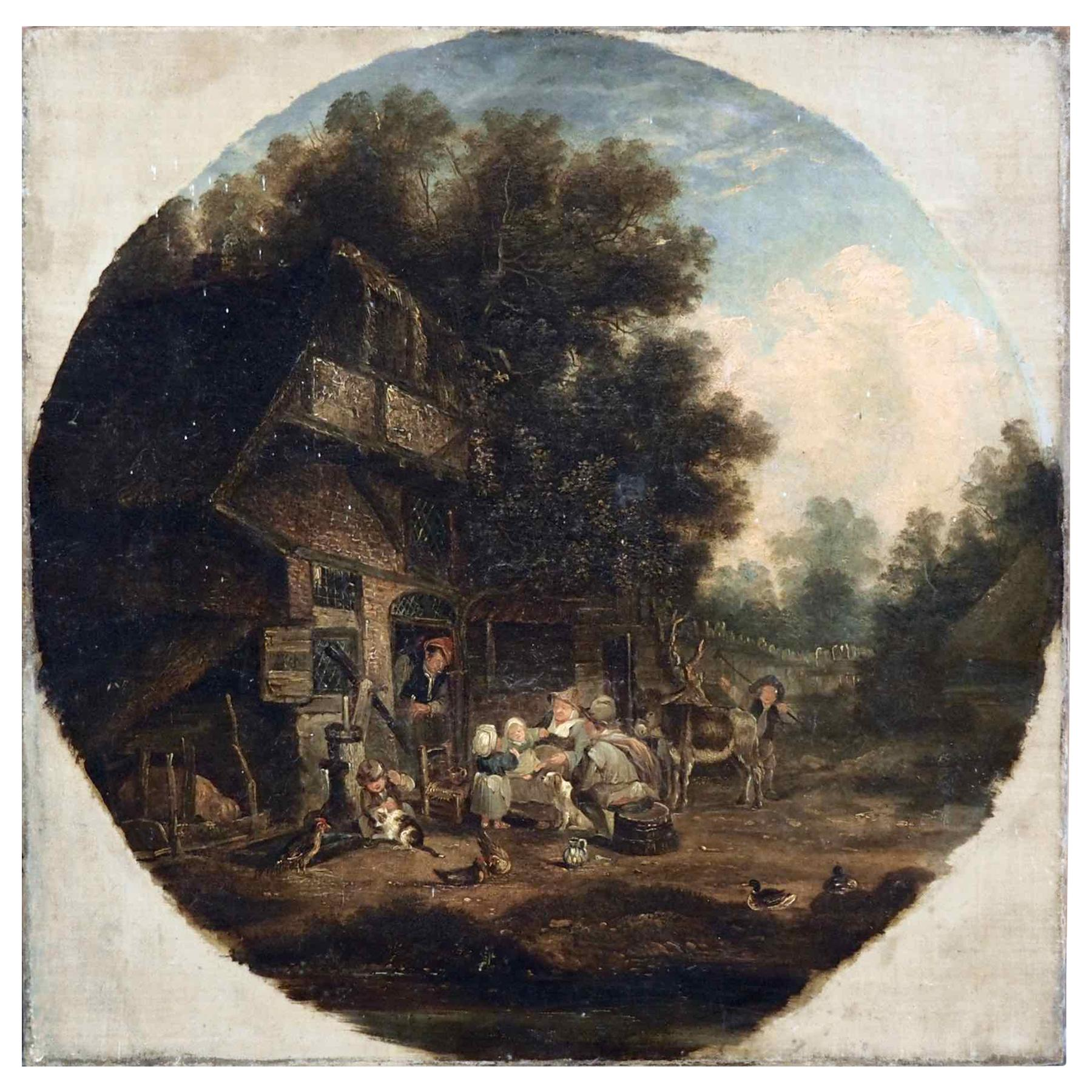 Dutch Painting, After Adrian Ostade