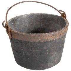 Alpine Stone Pot, Italy, Early 1800