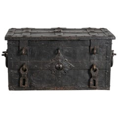Steel Safe Box, Germany, circa 1600