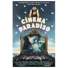 """Cinema Paradiso"", US Film Poster, 1990"