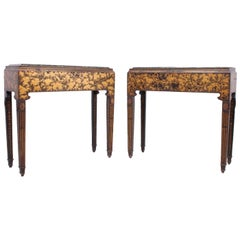 Pair of Regency Chinoiserie Side Tables, circa 1820