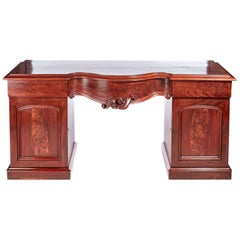 Quality Antique Victorian Mahogany Sideboard