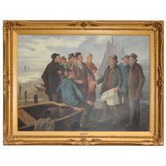 Charles Constantino - Breton Fishermen, 1891