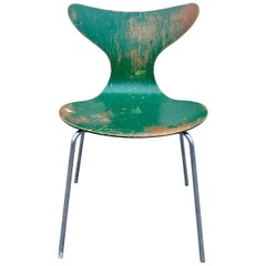 Arne Jacobsen 3108 The Lily Seagull Chair, Fritz Hansen, 1970s