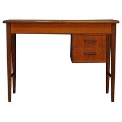 Writing Desk Danish Design Midcentury Teak