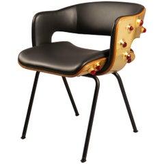 Oxford Arflex Desk Chair by Roberto Rida, Italy, 2018