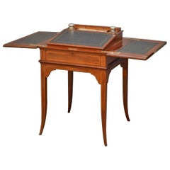 Edwardian Mahogany Writing Table by Maple & Co.