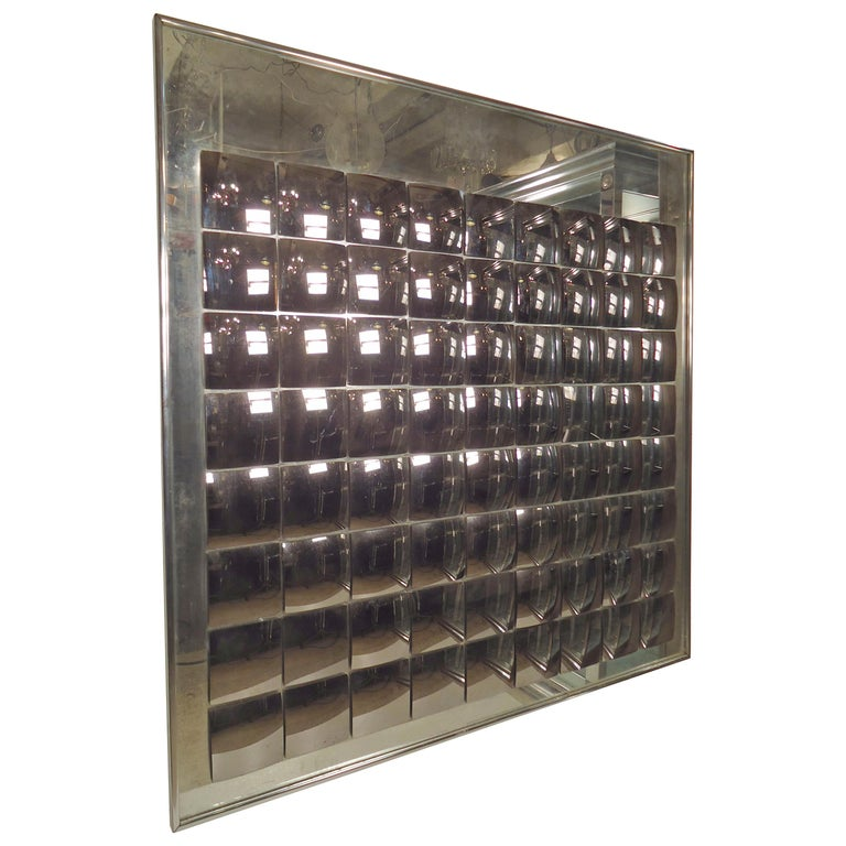 Homefurnituremirrorswall Mirrors Op Art Mirror By Hal Bienenfeld For