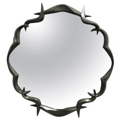 Bronze Framed Mirror by Anasthasia Millot, France, 2018