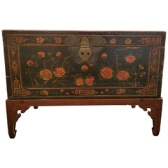 Chinese Trunk on Stand