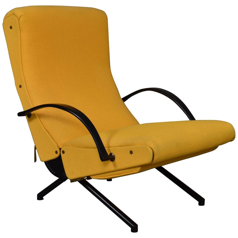 First Edition P40 Lounge Chair by Borsani for Tecno, Italy, circa 1950 For Sale