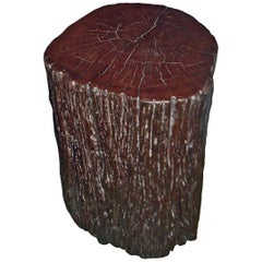 Tree Trunk Side Tables