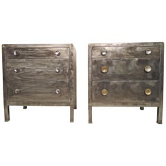 Single Industrial Metal Dresser
