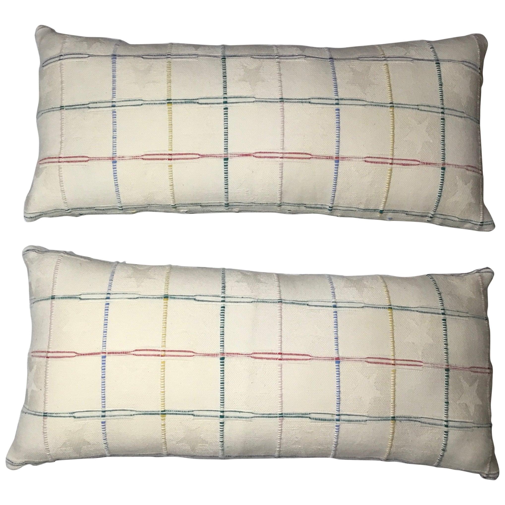 Elegant Pair Of Decorative Pillows