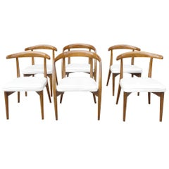 Midcentury Set of Lawrence Peabody Dining Chairs