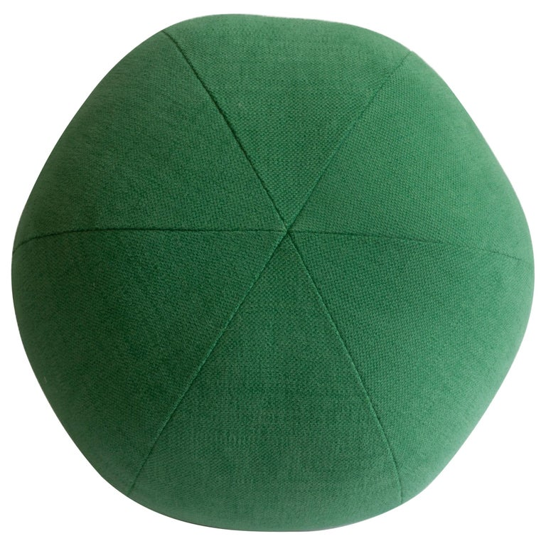 Green Round Ball Throw Pillow For Sale