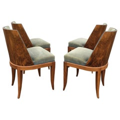 Set of 4 Dining Chairs and 2 Armchairs