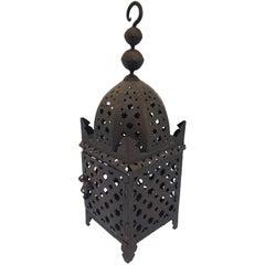 Moroccan Hurricane Moorish Metal Candle Lantern