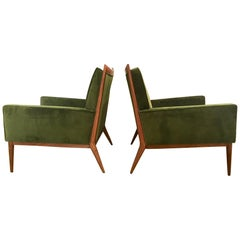 Pair of Paul McCobb Lounge Chairs for Directional, 1950s