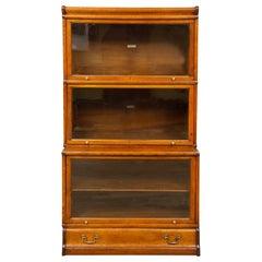 Oak Globe Wernicke Barristers Bookcase