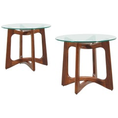 Adrian Pearsall Model 2460-T24 Side Tables for Craft Associates