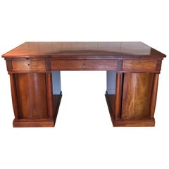 Early 20th Century Danish Mahogany Desk by Otto Meyer