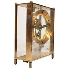 Vintage Kundo, Germany Mantel Midcentury Clock