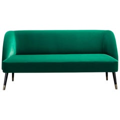 Pauline Green Love Seat by Dom Edizioni