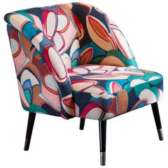 Pauline Multicolored Dining Chair by Dom Edizioni