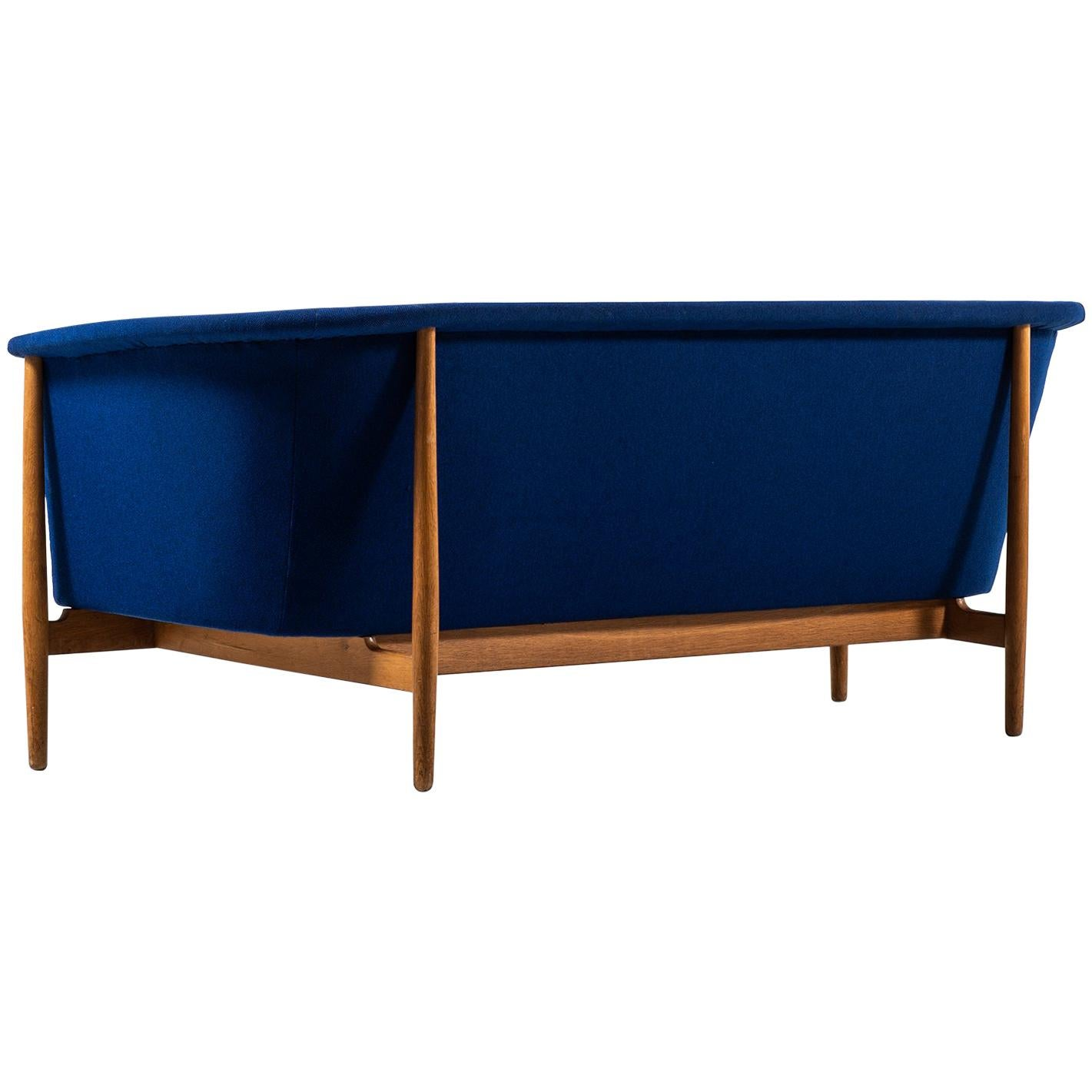 Nanna Ditzel Freestanding Sofa by Knud Willadsen in Denmark