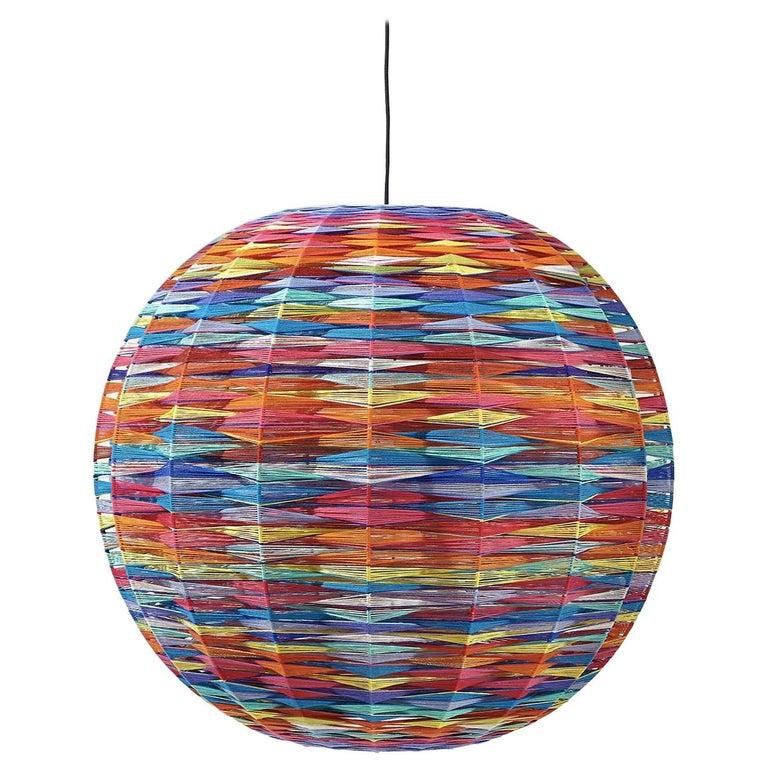 Thea Kuta Multicolor Pendant Lamp by MissoniHome For Sale