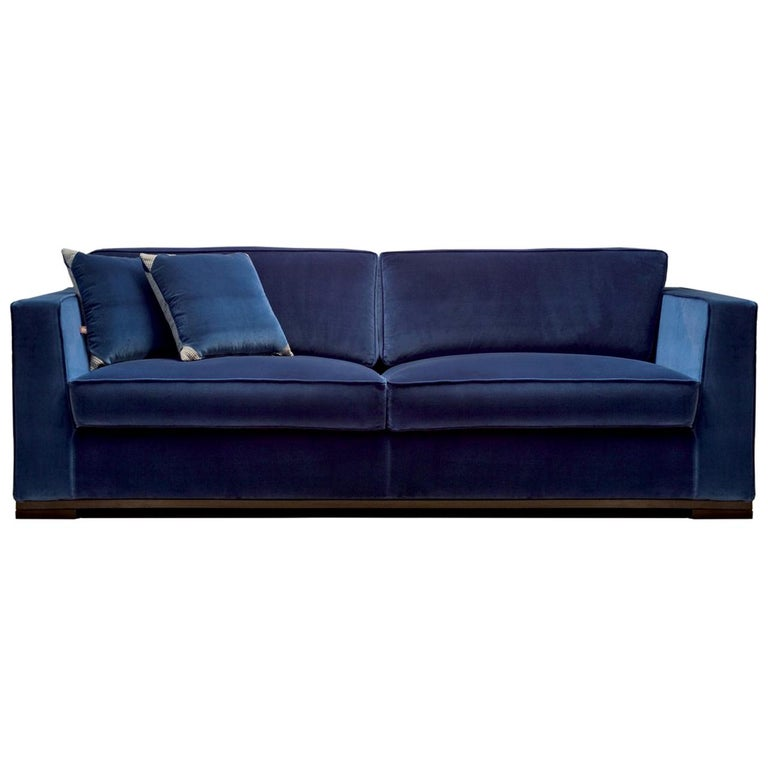 Harris Sofa by DOM Edizioni For Sale