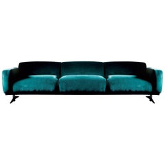 Renee Blue Sofa by DOM Edizioni