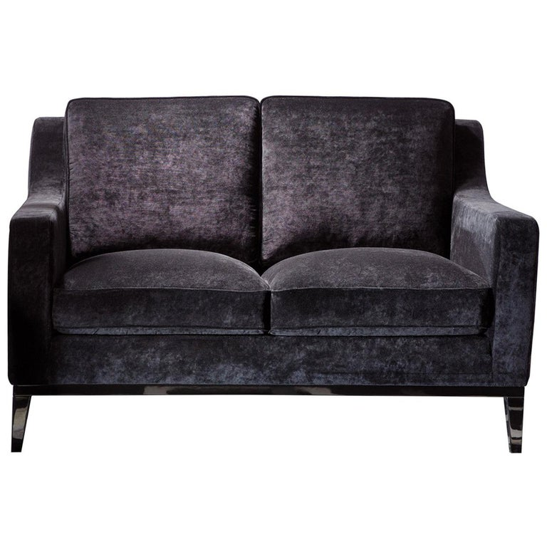 Cristine Grey Love Seat by DOM Edizioni For Sale