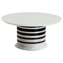 Spool Small White Side Table by MissoniHome