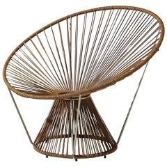 Cordula Cuoio Round Armchair by MissoniHome