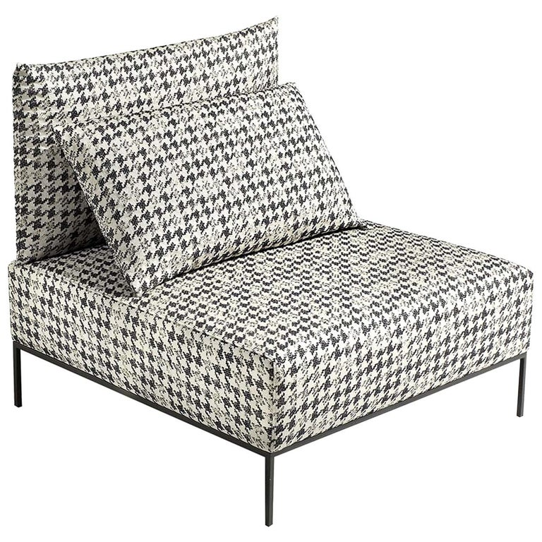 Missoni Home Cordula Easy Chair: Adar Houndstooth Easy Chair By MissoniHome For Sale At 1stdibs