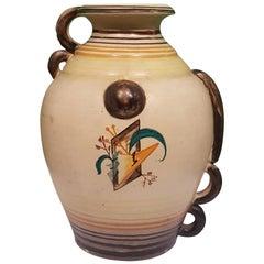 Futurist Ceramic Vase by Nicolaj Diulgheroff, 1930s